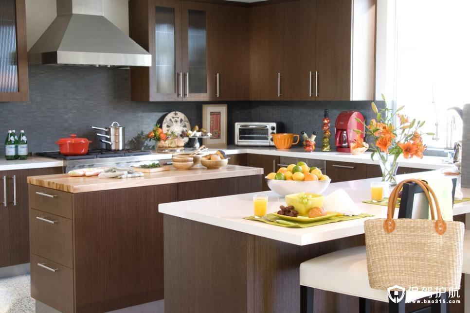 厨房趋势:最热门的颜色组合