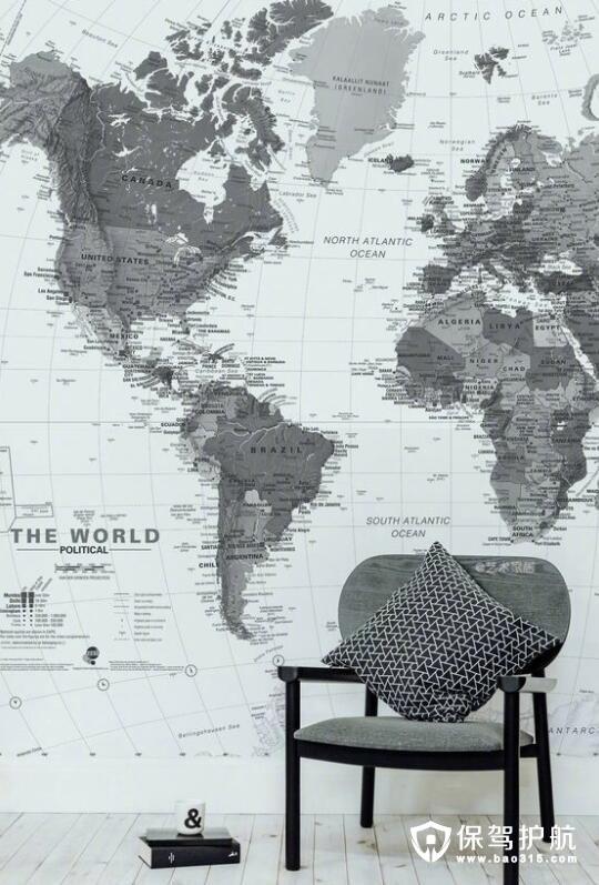 世界地图壁纸