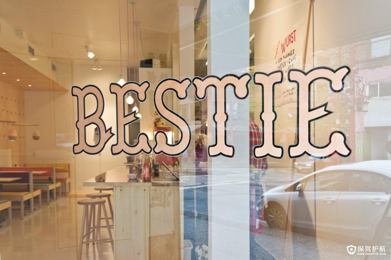 温哥华Bestie餐厅设计