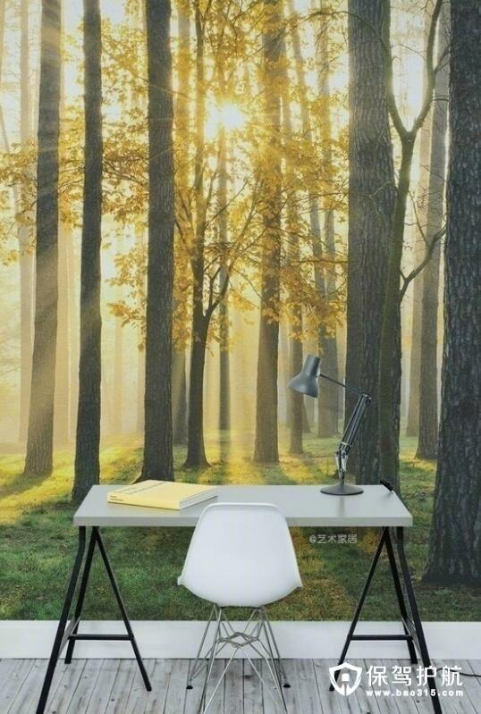 森林卧室壁纸