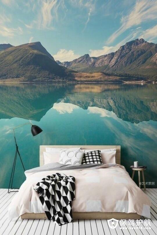 湖光波澜卧室