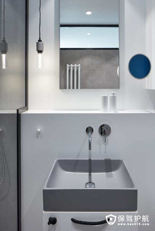 卫浴洗手台设计