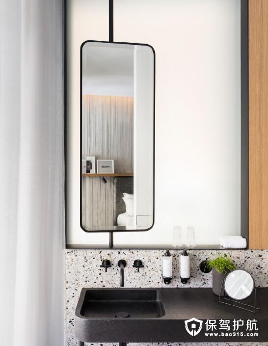 卫浴装修参考 格调满分的洗手台设计