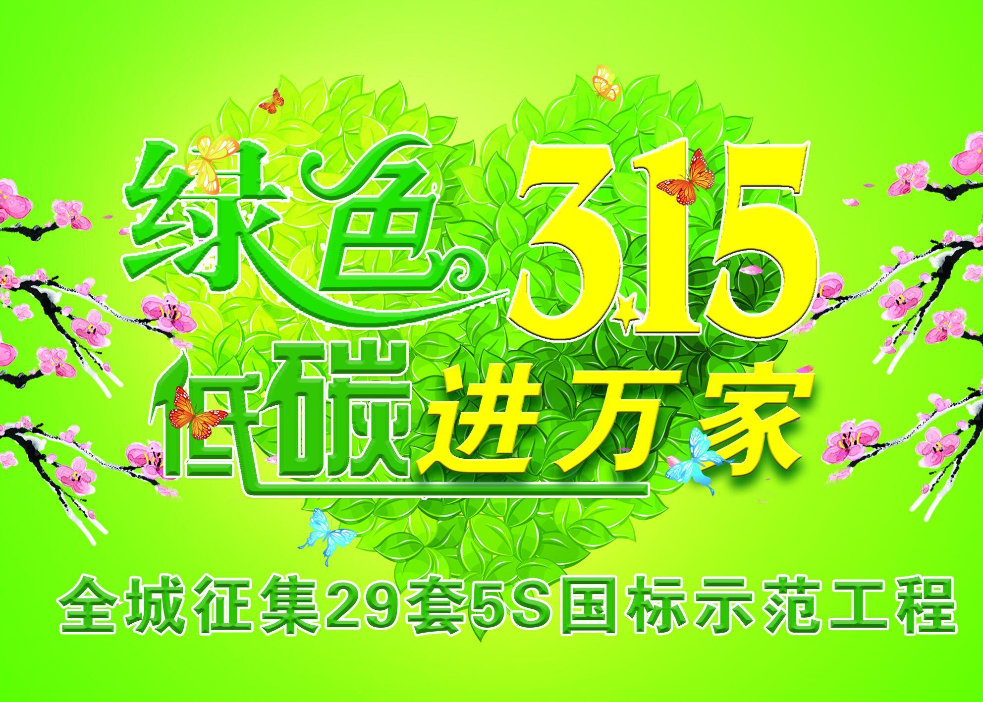 """【大连老工匠装饰】""""绿色315.低碳进万家 """"大型活动"""