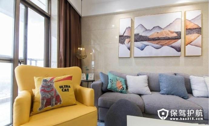 北欧风家居设计与搭配,打造浪漫两居室