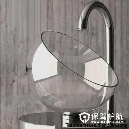 半球体洗面盆设计