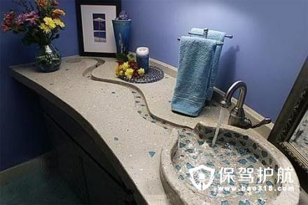大理石洗手台设计