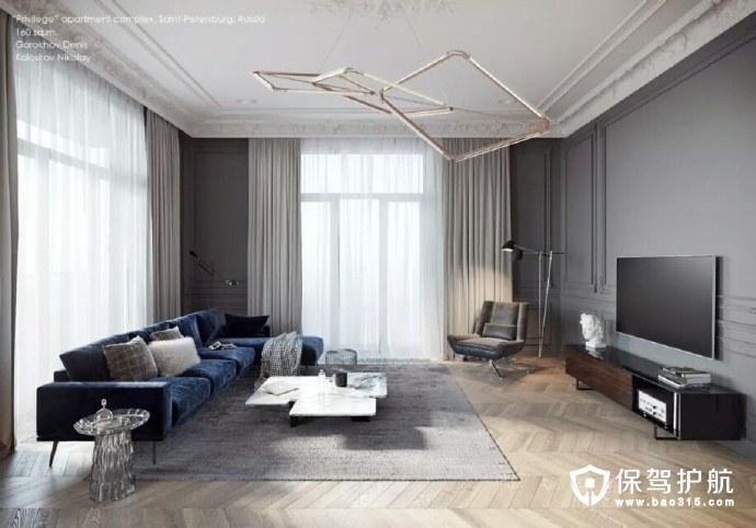 TOL'KO 室内设计效果图 体验素雅色调和精致家具的装修搭配