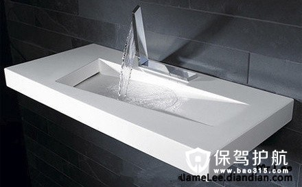长方形洗手台设计