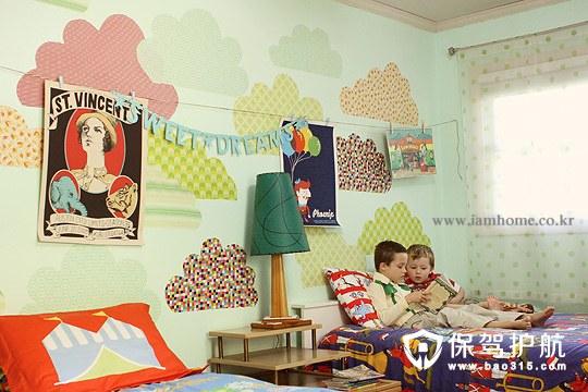 家居DIY  爱意满满男孩儿童房设计装饰攻略