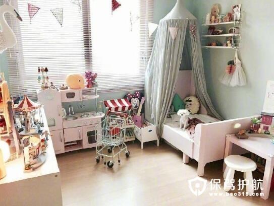 儿童房玩具布置
