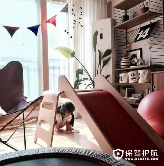 客厅儿童滑梯设计