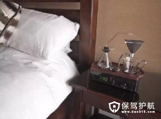 咖啡香味创意定时闹钟