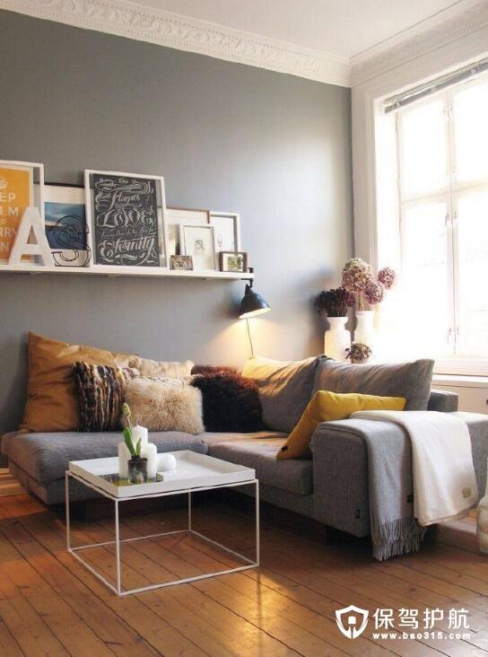 北欧系客厅一角 尽展随性舒适装修风格