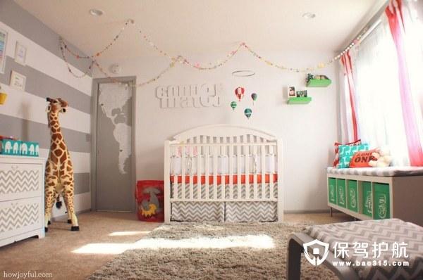 新手爸妈宝典 婴儿房设计必览