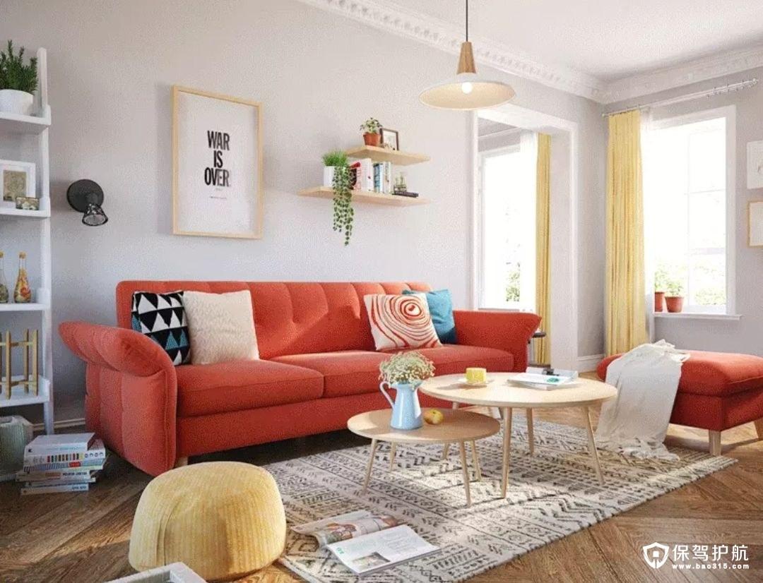 沙发背景墙的装饰案例,品味指数五颗星