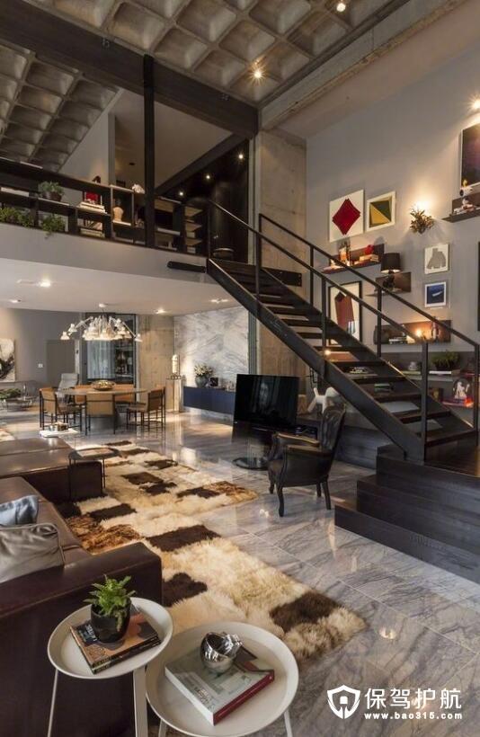 当下最流行 人见人爱的loft公寓设计