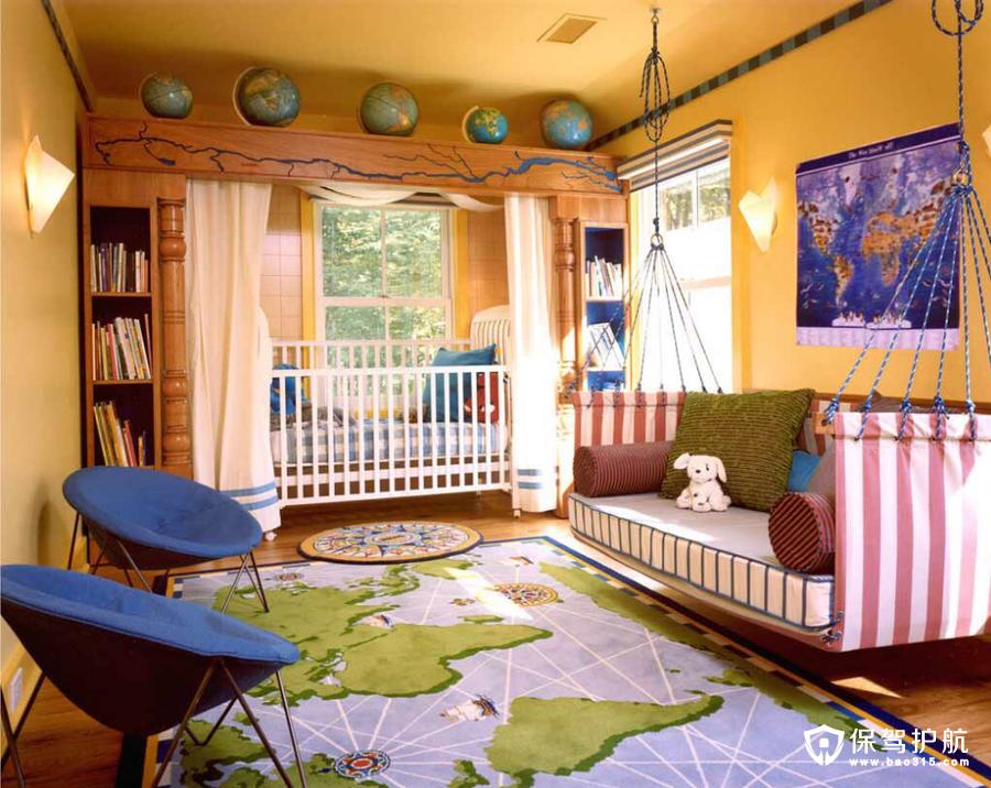预备役爸妈必知 盘点2017创意十足儿童房设计