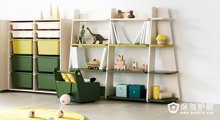 孩子玩具多又乱 儿童房收纳设计一步搞定