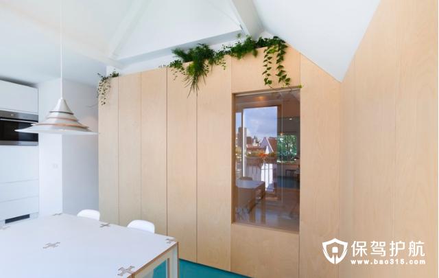 阿姆斯特丹56㎡小户型公寓设计