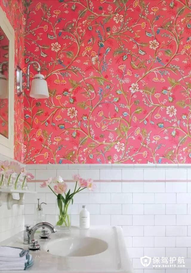 卫浴壁纸设计
