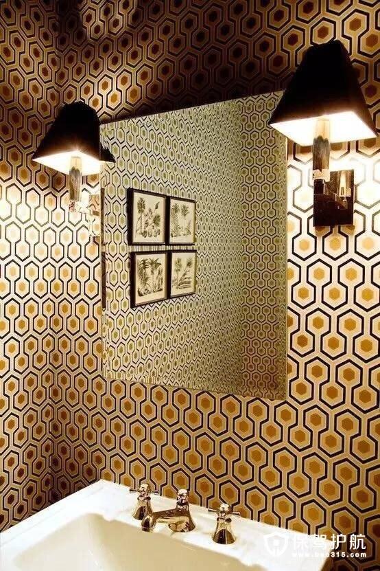 卫浴壁纸图案