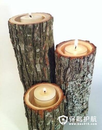 大树年轮蜡烛