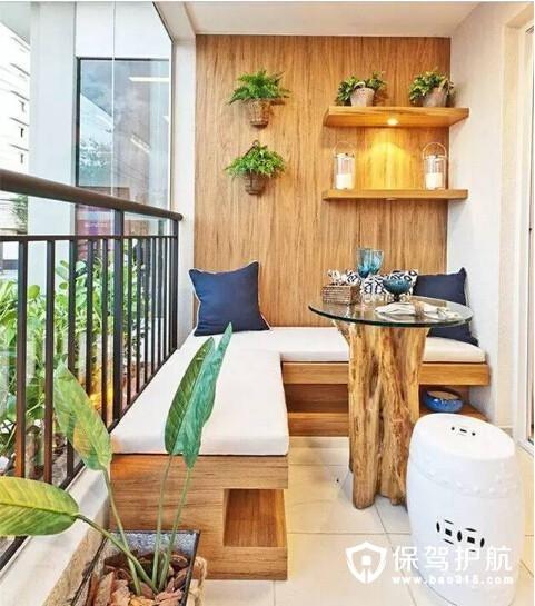 绿植阳台 种满诗和远方