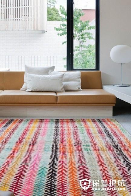 家居地毯搭配 拯救沉闷客厅氛围