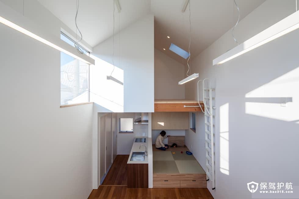 打造一个节省空间的房子,你会采用什么样的独创性?