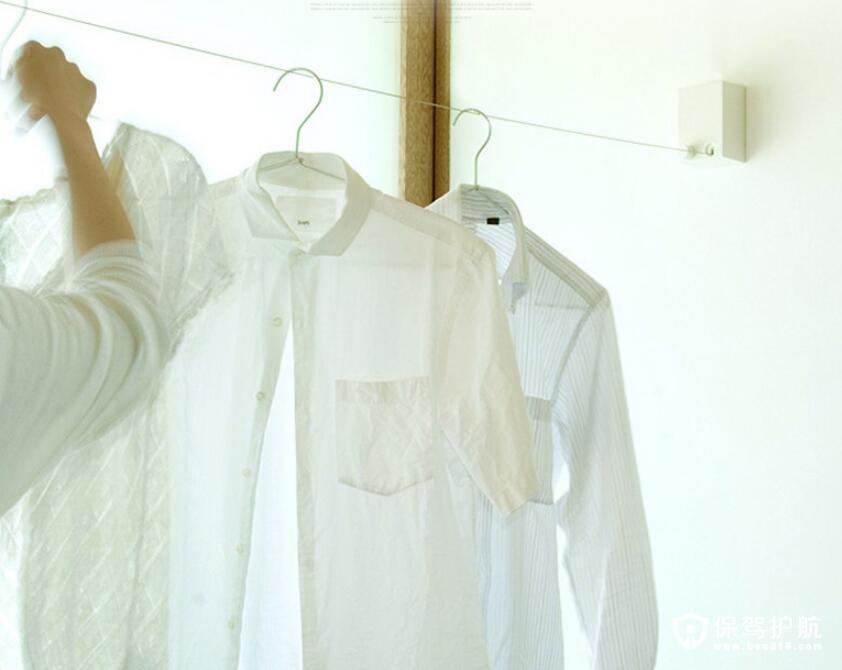 隐形晾衣架