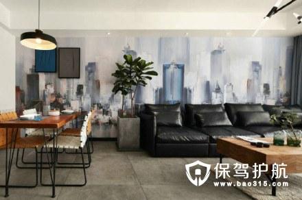 90m²简约装修,靠配饰撑起一个家的颜值