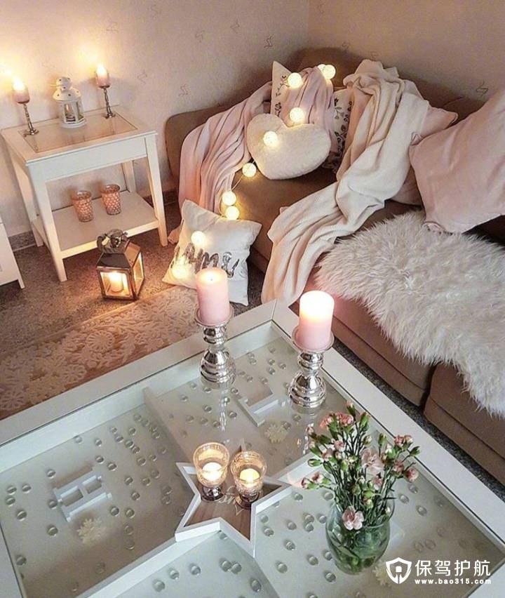 bling bling的卧室装饰,是小仙女无疑了
