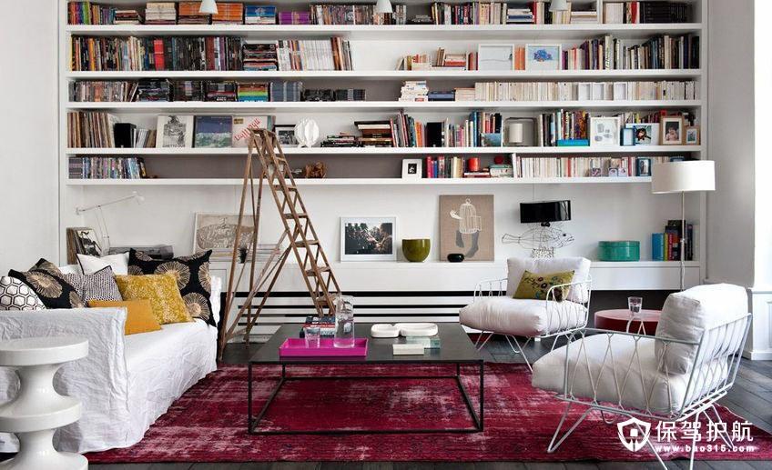 給自己造一個有趣的家庭圖書館!