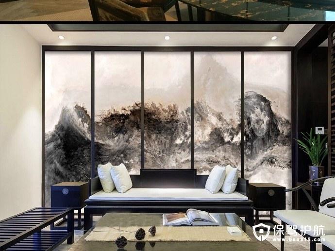 传统的中式壁纸,让家里的古典韵味更浓