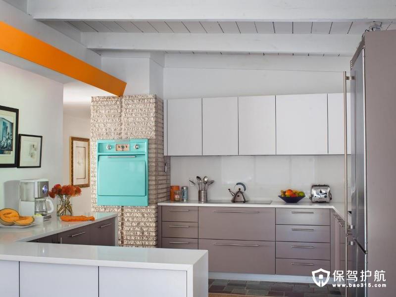 你会想偷的中世纪现在小厨房设计理念!