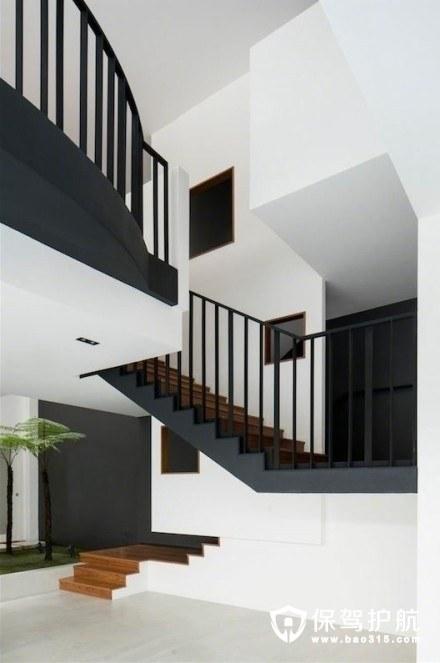 复式楼梯设计案例图--请接收