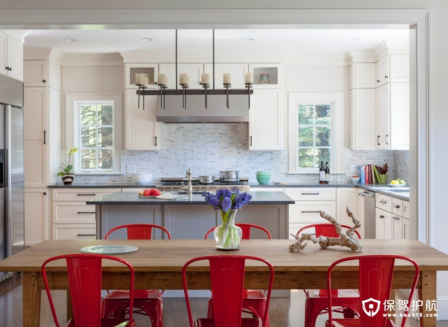 10个华丽的混合金属厨房,让你做菜也rock!