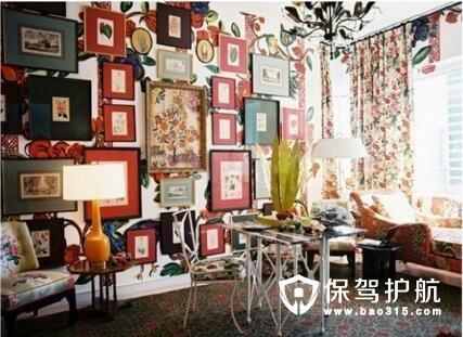 创意家居装饰----相框背景墙