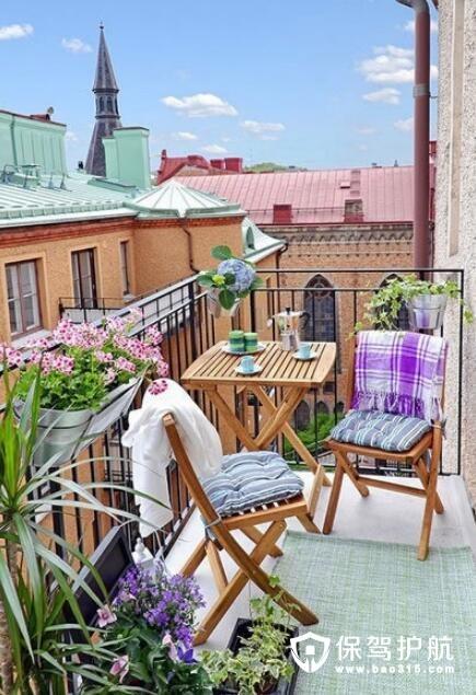 阳台花园式设计
