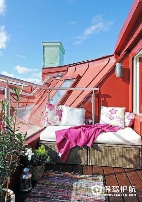 没见过这么美的阳台设计 赶紧码住回去装修起来
