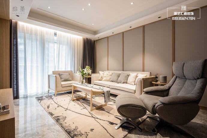 金林雅苑117平米新中式风格装修案例