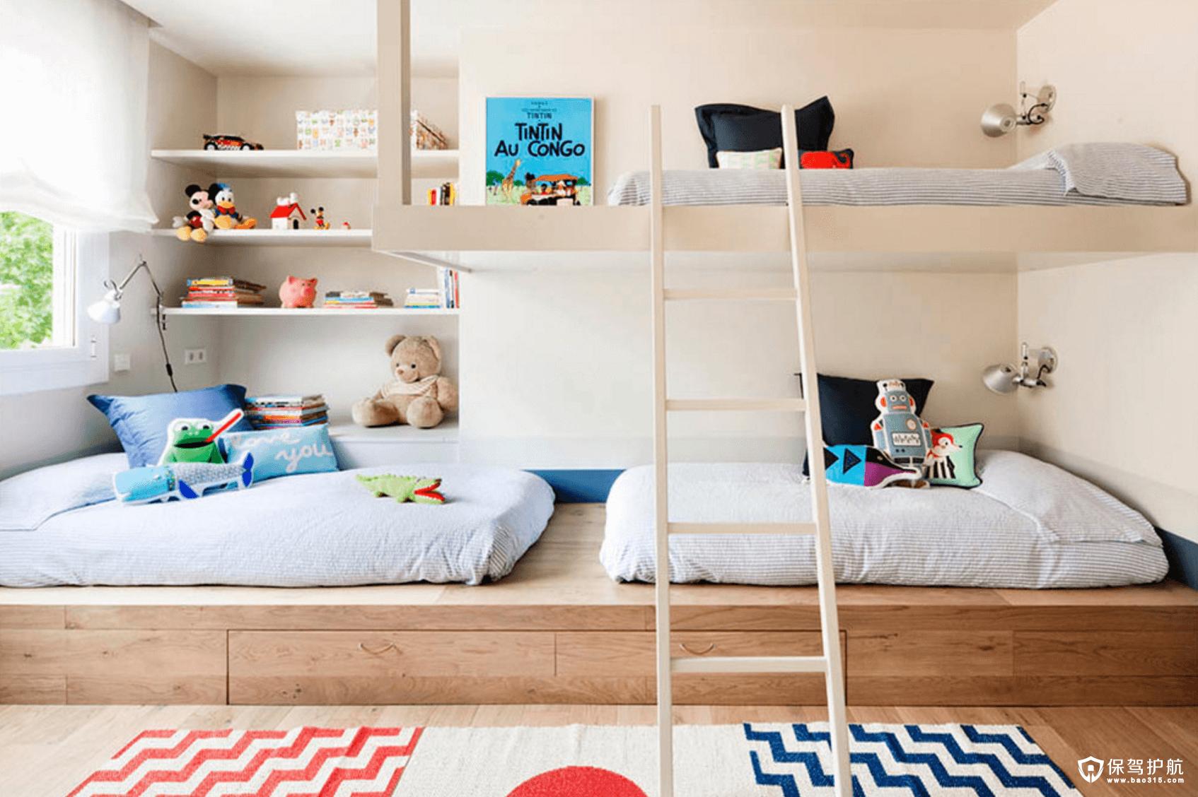 下面小编就准备了儿童卧室装修效果图大全锦集给大家,大家可以来