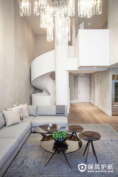 带有豪华螺旋楼梯的中世纪风别墅设计效果图!