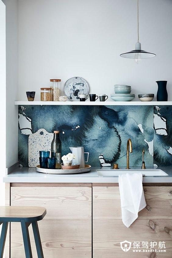 10个厨房壁纸的优点!