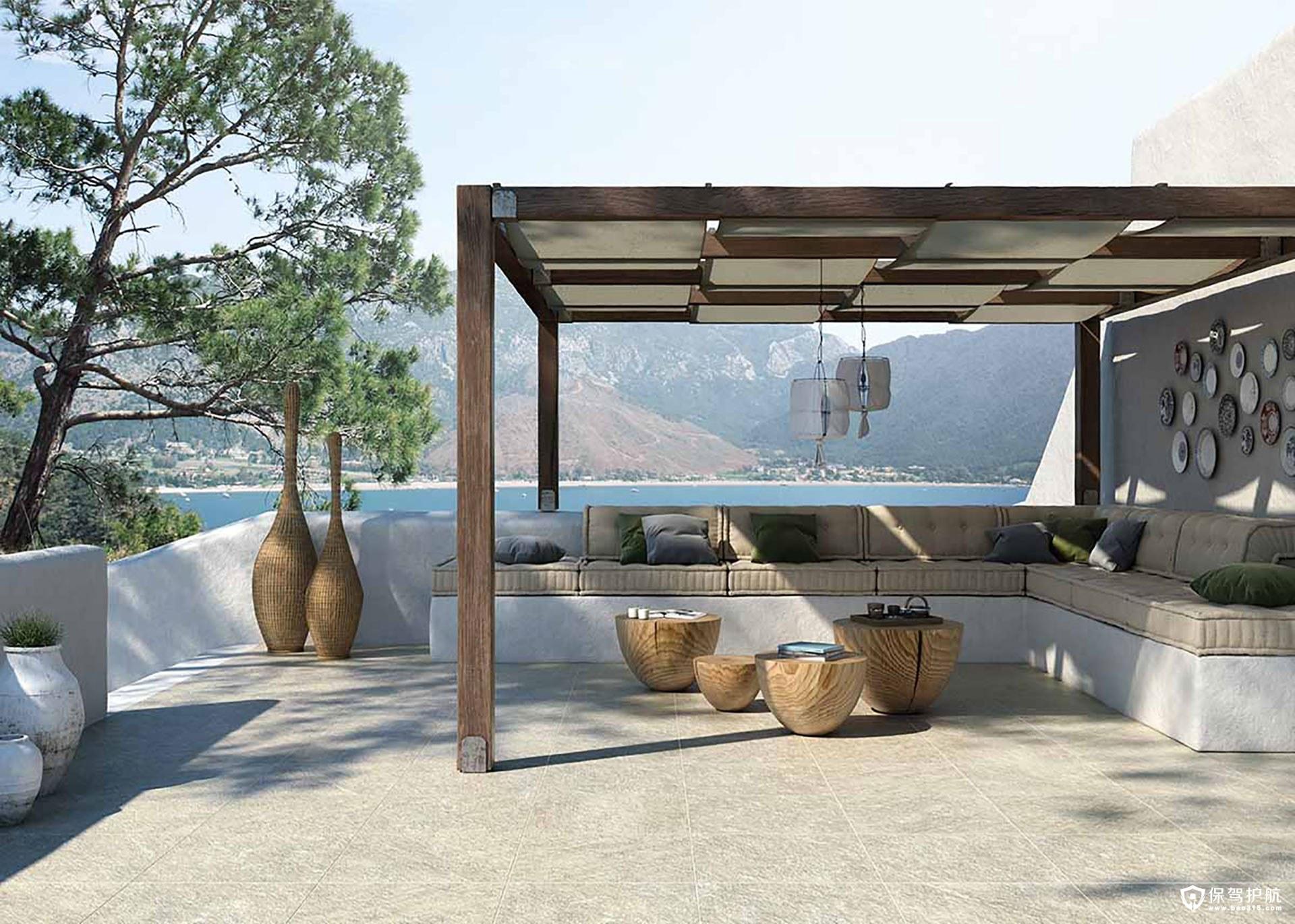 现代室内和室外地板设计!