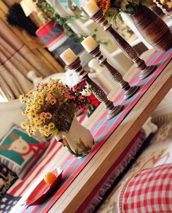 一张图改变你的心情 美式乡村小屋装修风格效果图