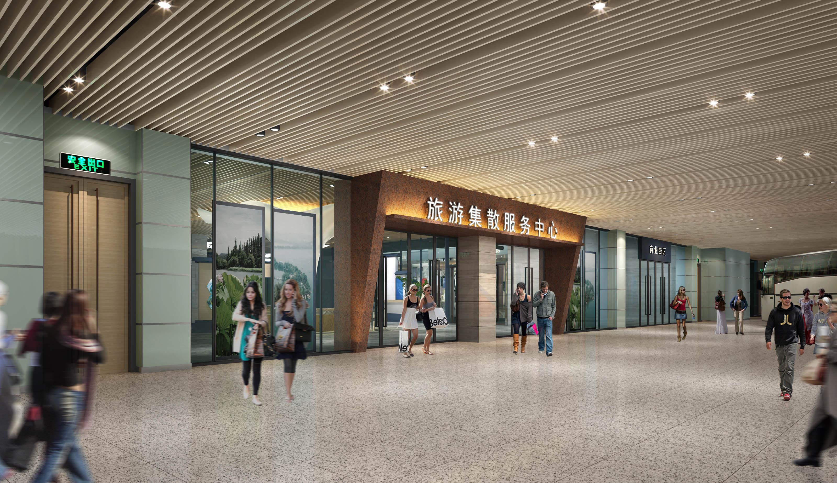 杭州火车东站旅游集散中心