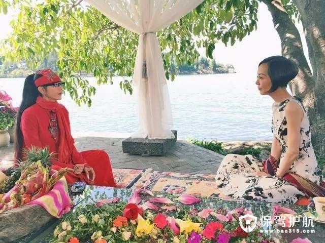 阳台花园,活成像杨丽萍这样的仙女!