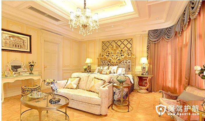 豪华公主卧室这样装,愿你梦中遇见你的王子!